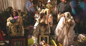 Continúa en México el culto a la Santa Muerte, con tintes anticatólicos.