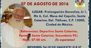 CAMBIO DE LUGAR DE LA XIV FERIA DEL APÓSTOL 2016