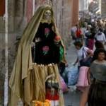 Continúan en México los sucesos vinculados a la Santa Muerte.