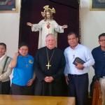 Encuentro con Mons. Víctor Sánchez Espinosa, Arzobispo de Puebla